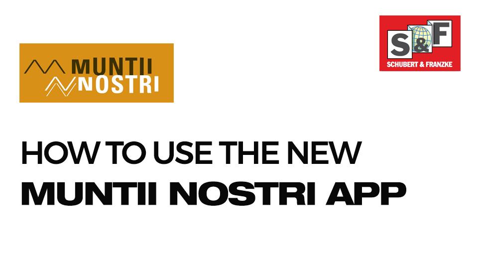 User Guide New Munții Noștri App