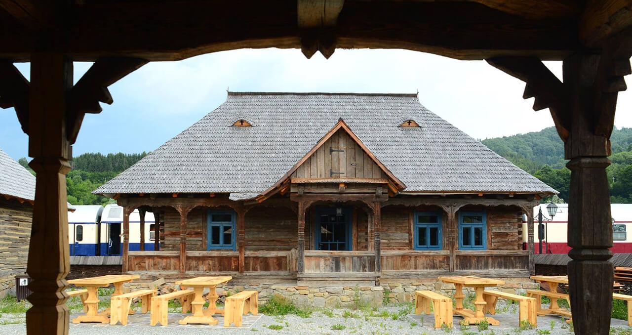 Mocanita - Valea Vaserului - Muzeul Satului Maramureșean